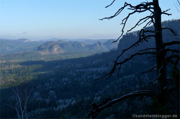 Blick zum Kleinen Winterberg