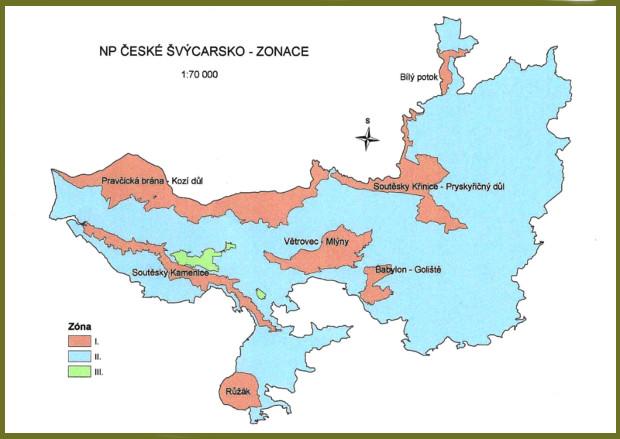 Kernzone Böhmische Schweiz