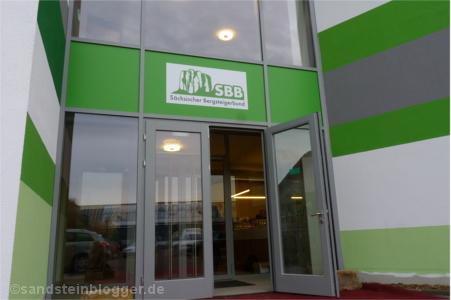 Eingang zum neuen SBB-Vereinszentrum