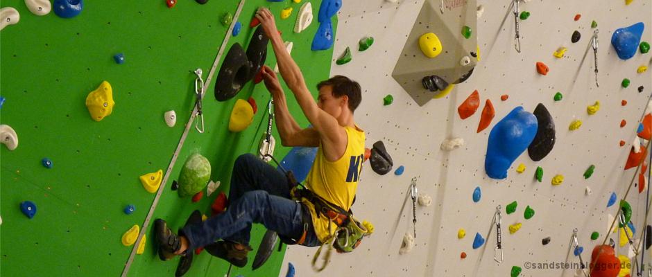 SBB-Kletterhalle in Dresden