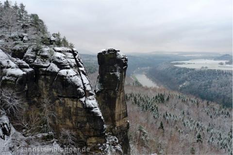 Teufelsturm in der Sächsischen Schweiz