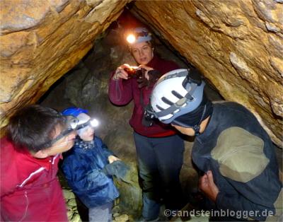 Trubel in der Schleifsteinhöhle