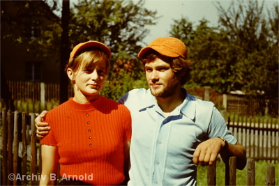 Christine und Bernd Arnold in jungen Jahren