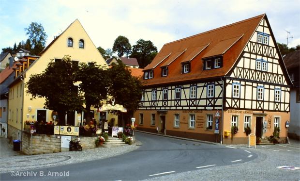 Das Bergsportgeschäft am Hohnsteiner Markt