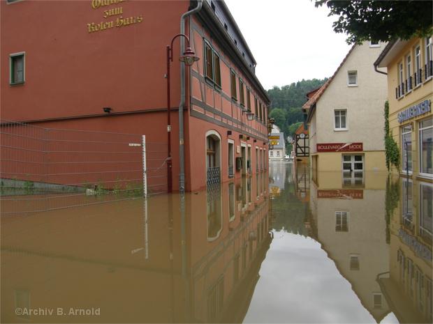 Bad Schandau zum Hochwasser 2013