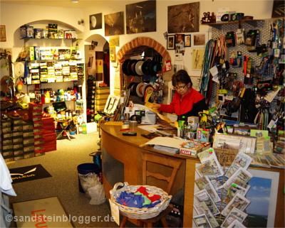 Ladenraum in Hohnstein