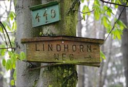 Wegweiser am Lindhornweg
