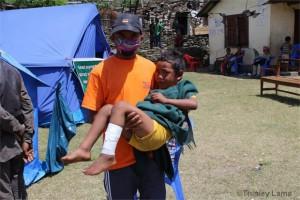 Im Rettungscamp