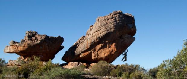 Bouldern in den südafrikanischen Rocklands