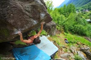 Bouldern im Val di Mello