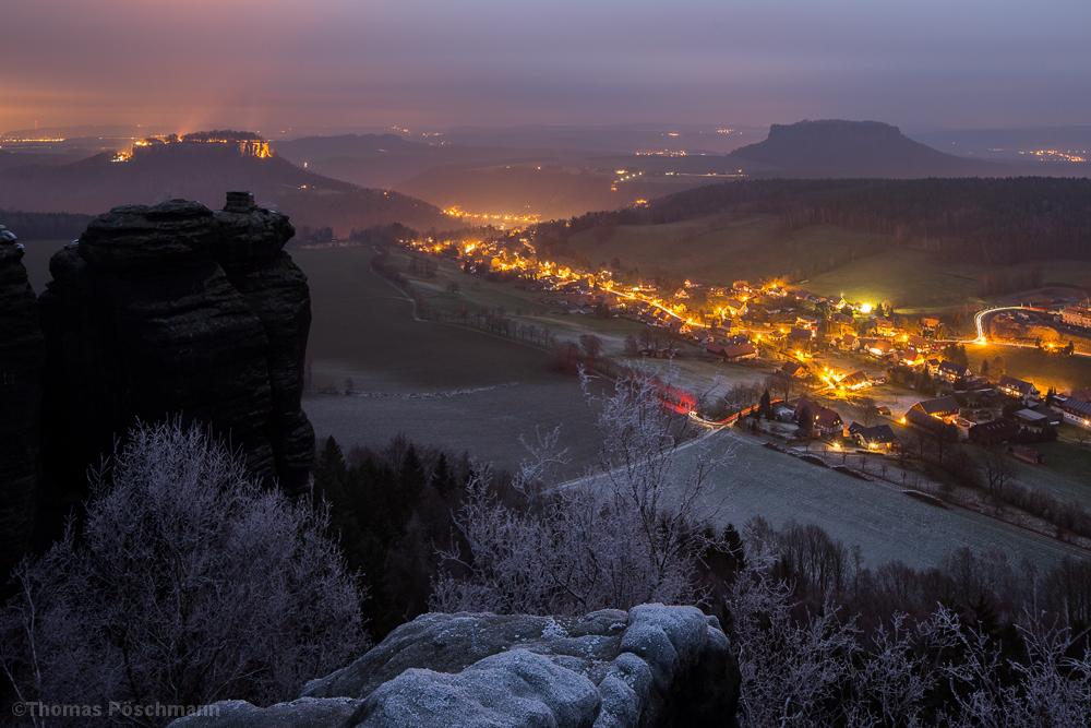 Pfaffendorf bei Nacht