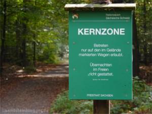 Kernzonenschild