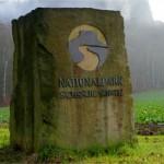 Nationalpark Grenzstein Icon
