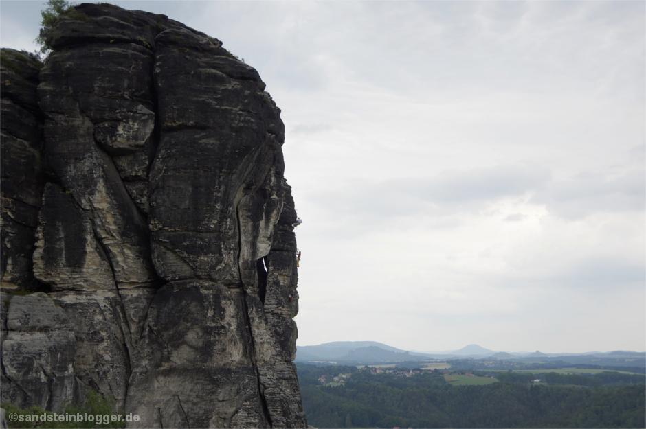 Südwand am Vorderen Gansfels