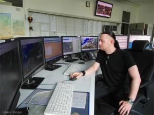 Meteorologe in der Flugwetterwarte Berlin