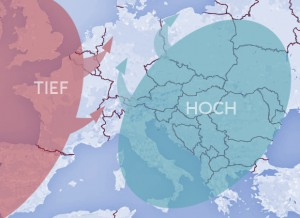 Wetterkarte Europa