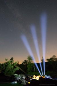 Fotografen spielen mit Licht