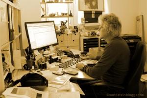Frank Meutzner im Büro