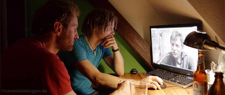 Felix und Alex arbeiten an ihrem neuen Film