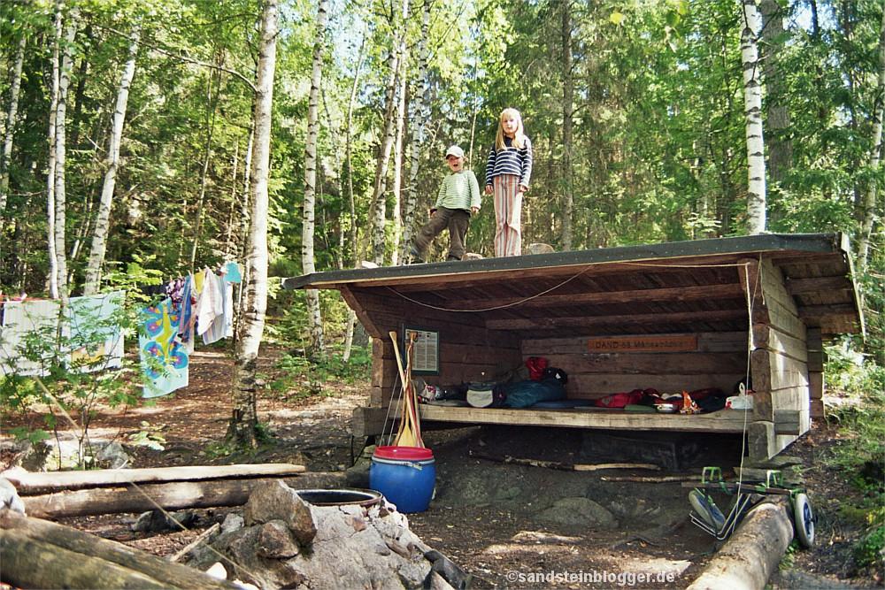 Biwakplatz im schwedischen Dalsland