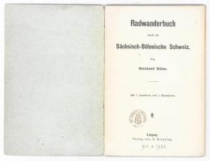 Radwanderbuch von Bernhard Böhm