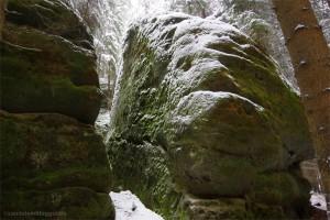 Kletterfelsen Seife im Kleinen Zschand