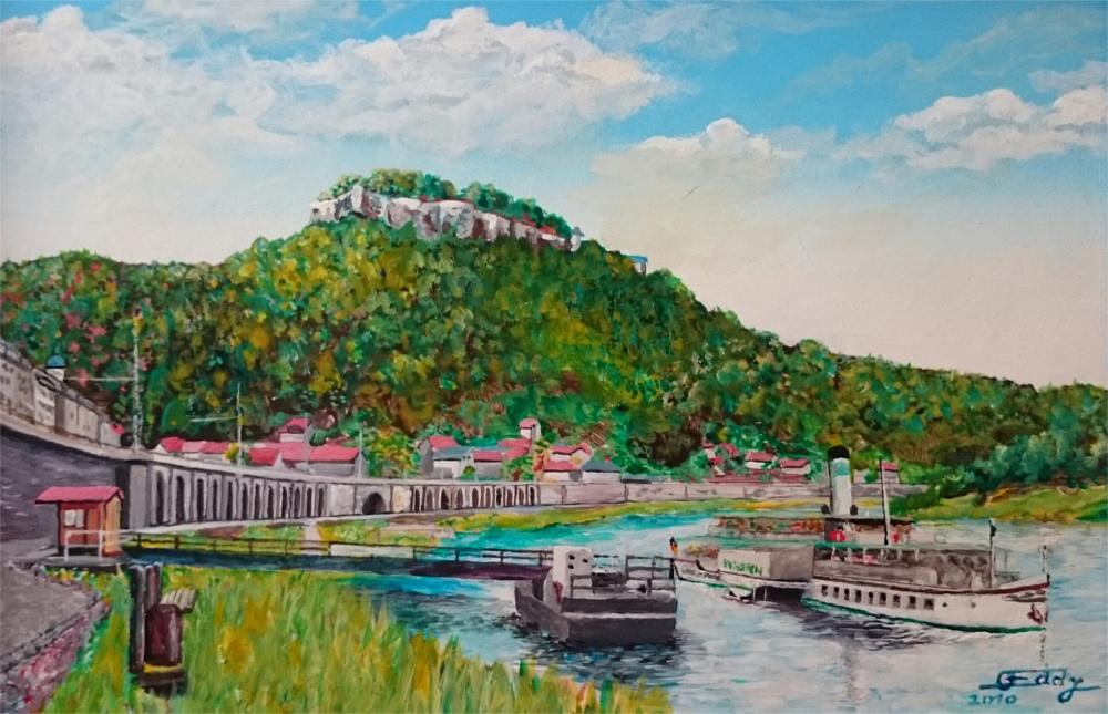 Eddys Gemälde von Königstein
