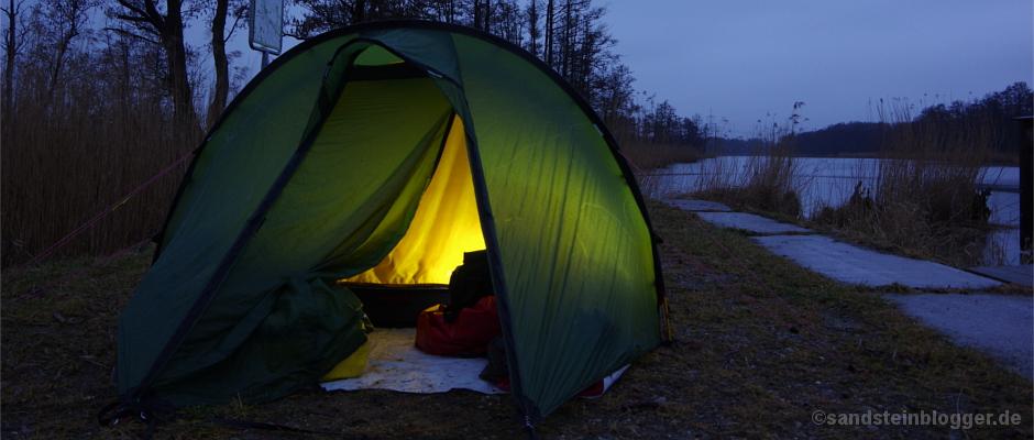 Nachtlager an der Pene
