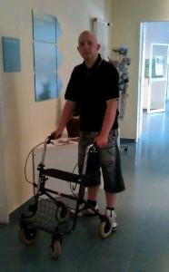 Rico im Krankenhaus