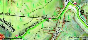 Kartenausschnitt Kleiner Zschand