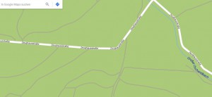 Screenshot Google Maps Wintersteingebiet