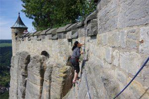Klettern am Königstein