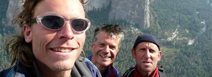 Drei Männer auf dem El Capitan