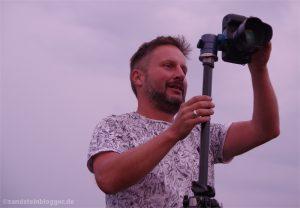 Stephan an der Kamera