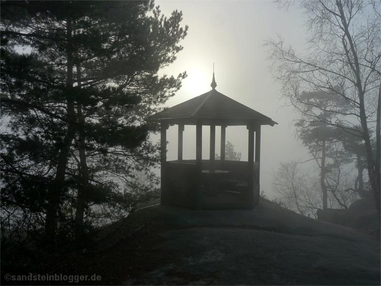 Hütte auf dem Gohrisch