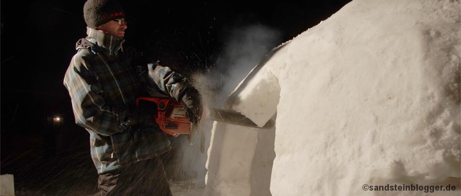 Grönland-Challenge im Kirnitzschtal