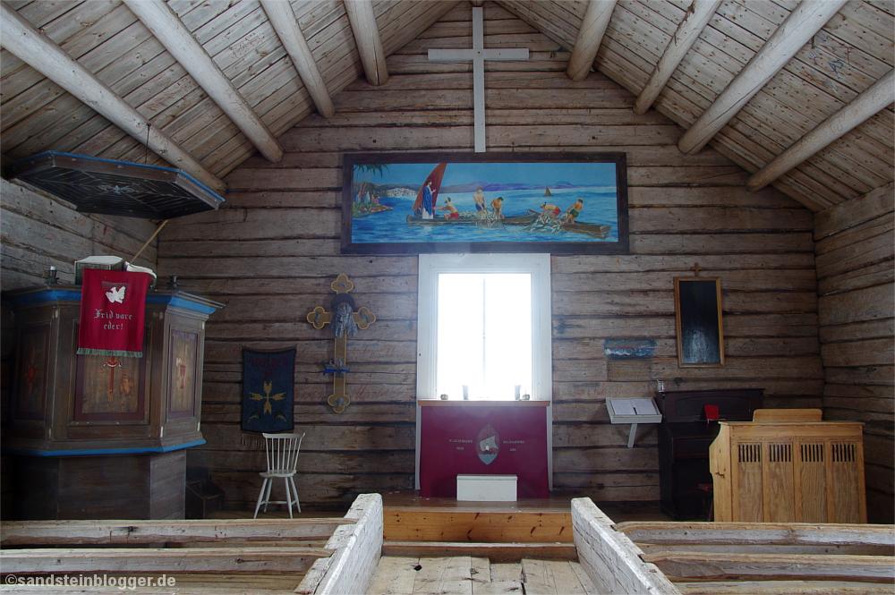 Inselkapelle von innen