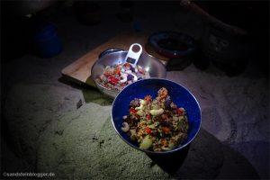 Quinoa auf Teller