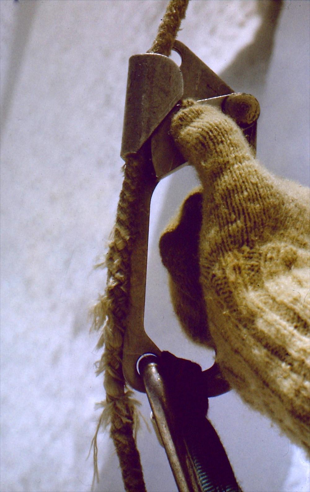 Zerschlissenes Seil