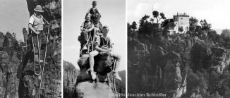 Kletterfotos aus der Zeit 1933-1945