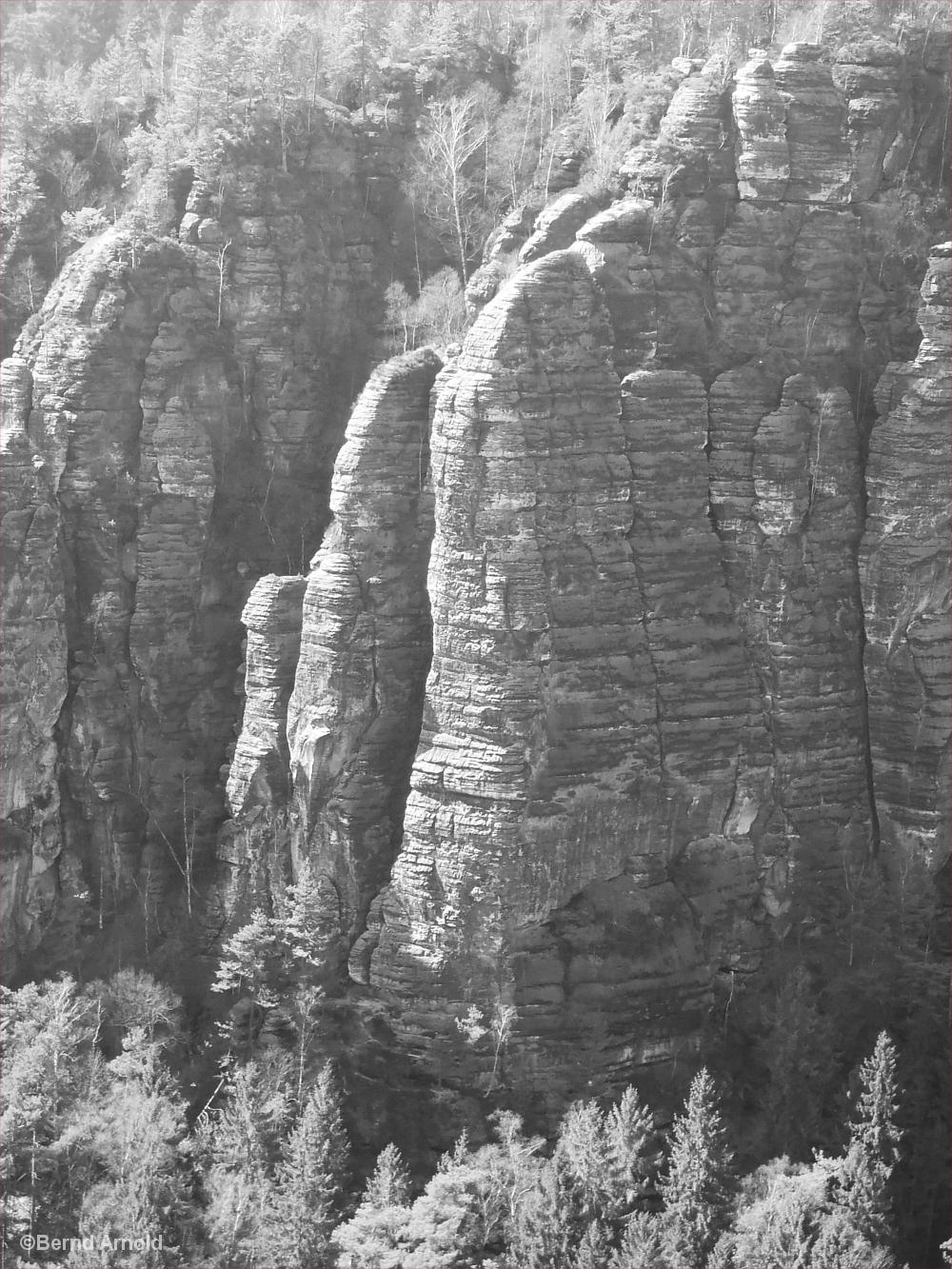 Felswand