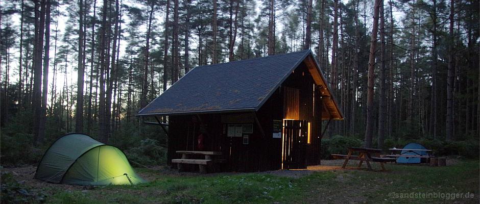 Dosen-Ravioli auf dem Forststeig